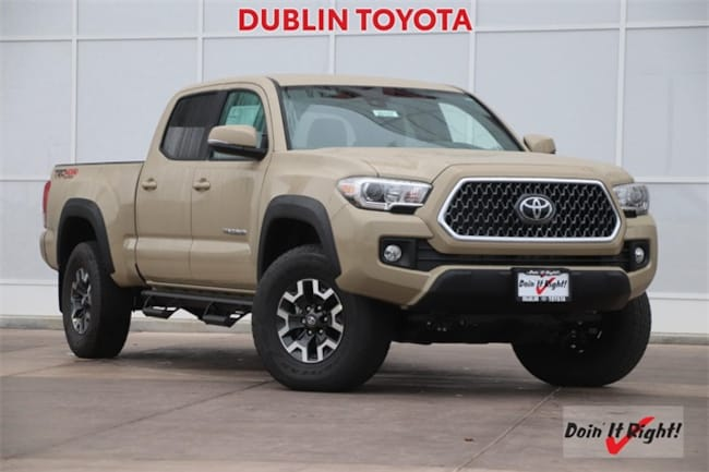 New 2019 Toyota Tacoma TRD Off Road V6 Truck Double Cab in Dublin, CA
