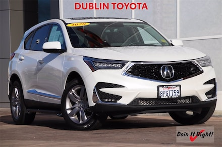 2020 Acura RDX Advance Package SUV T35390A