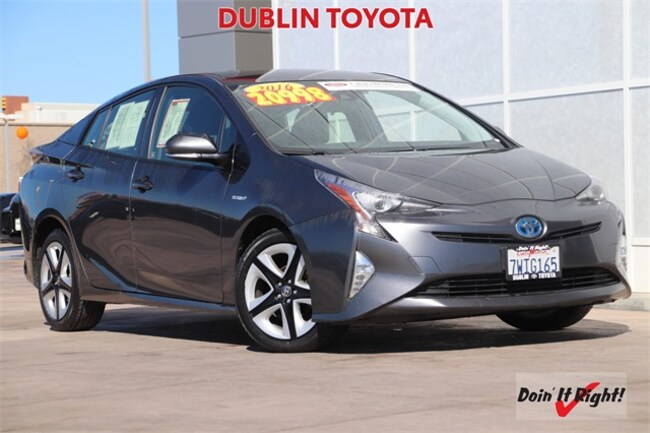 2016 Toyota Prius Three Touring Hatchback 26534A in Dublin, CA