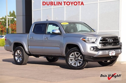 2017 Toyota Tacoma Limited Truck Double Cab 27549A