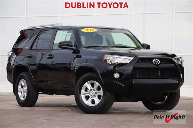 Used 2018 Toyota 4Runner SR5 SUV 26441A for sale in Dublin, CA