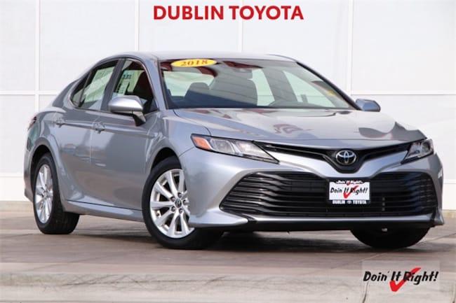 2018 Toyota Camry LE Sedan 26388A in Dublin, CA