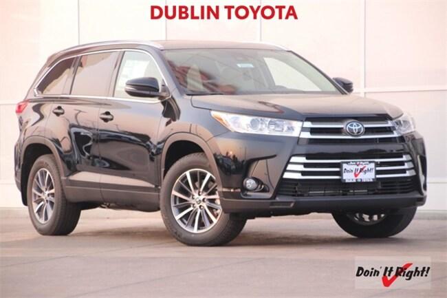 Toyota Highlander Lease >> New 2019 Toyota Highlander Xle V6 For Sale Lease In Dublin Ca Vin