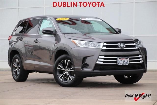 2018 Toyota Highlander LE SUV 26554A