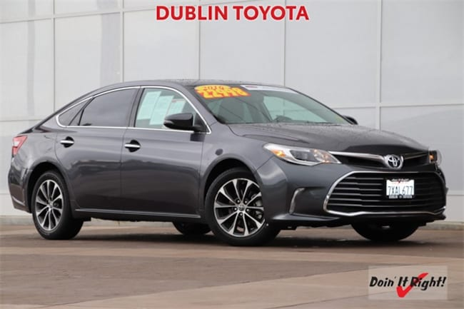 Certified Pre-Owned 2016 Toyota Avalon XLE Plus Sedan 26530A for sale in Dublin, CA