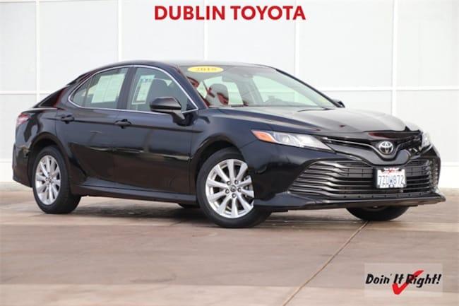 2018 Toyota Camry LE Sedan 26433A in Dublin, CA