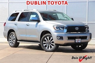 New 2018 Toyota Sequoia Limited SUV T25939 for sale in Dublin, CA