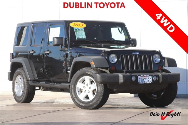 2013 Jeep Wrangler Unlimited Sport SUV T25661A