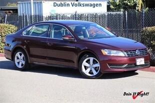 2013 Volkswagen Passat TDI SE w/Sunroof Sedan