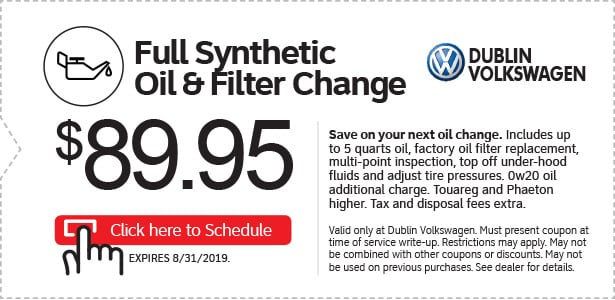 Volkswagen Service Specials in 94568 | VW Coupons on Tires, Brake
