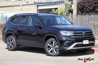 New 2021 Volkswagen Atlas 2.0T SE 4MOTION SUV D21013 in Dublin, CA
