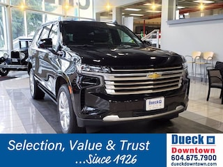 2021 Chevrolet Tahoe 4WD 4dr High Country Sport Utility for sale in Vancouver, BC