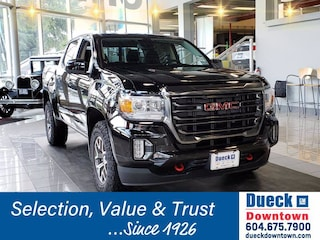 2021 GMC Canyon 4WD Crew Cab 128 AT4 w/Leather Crew Cab Pickup for sale in Vancouver, BC