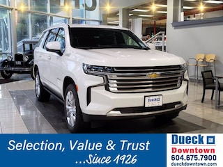 2021 Chevrolet Tahoe High Country Sport Utility for sale in Vancouver, BC