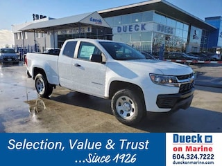 2021 Chevrolet Colorado 4WD Work Truck Extended Cab Pickup for sale in Vancouver, BC