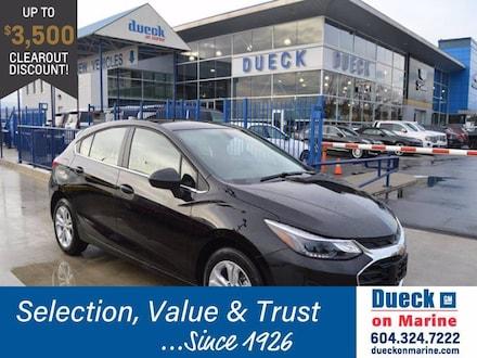 2019 Chevrolet Cruze 4dr HB LT Hatchback for sale in Vancouver, BC