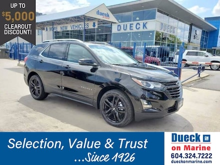2020 Chevrolet Equinox AWD 4dr LT w/2LT Sport Utility for sale in Vancouver, BC