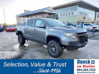 2021 Chevrolet Colorado 4WD ZR2 Crew Cab Pickup for sale in Vancouver, BC