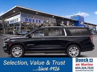 2021 Chevrolet Suburban 4WD 4dr High Country Sport Utility for sale in Vancouver, BC