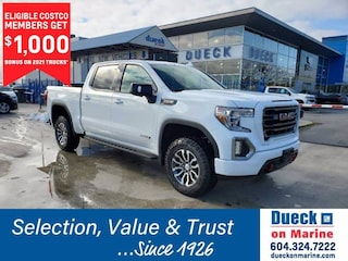 2021 GMC Sierra 1500 4WD Crew Cab 147 AT4 Crew Cab Pickup for sale in Vancouver, BC