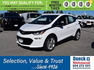 2020 Chevrolet Bolt EV LT Station Wagon for sale in Richmond, BC