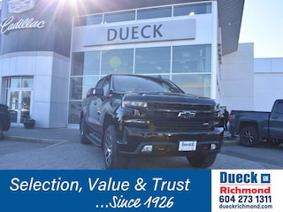 2019 Chevrolet Silverado 1500 LT Trail Boss Crew Cab Pickup for sale in Richmond, BC