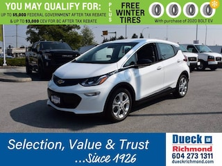 2020 Chevrolet Bolt EV 5dr Wgn LT Station Wagon for sale in Richmond, BC