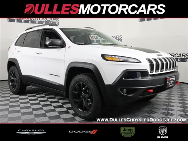 New 2018 Jeep Cherokee Trailhawk 4x4 SUV Leesburg, VA