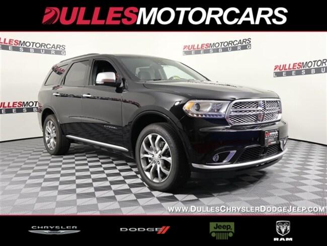 New 2018 Dodge Durango CITADEL ANODIZED PLATINUM AWD Sport Utility Leesburg, VA