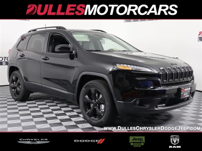 New 2018 Jeep Cherokee Limited 4X4 SUV Leesburg, VA