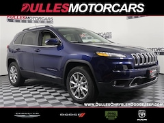 2018 Jeep Cherokee LIMITED 4X4 Sport Utility for sale in Leesburg, VA