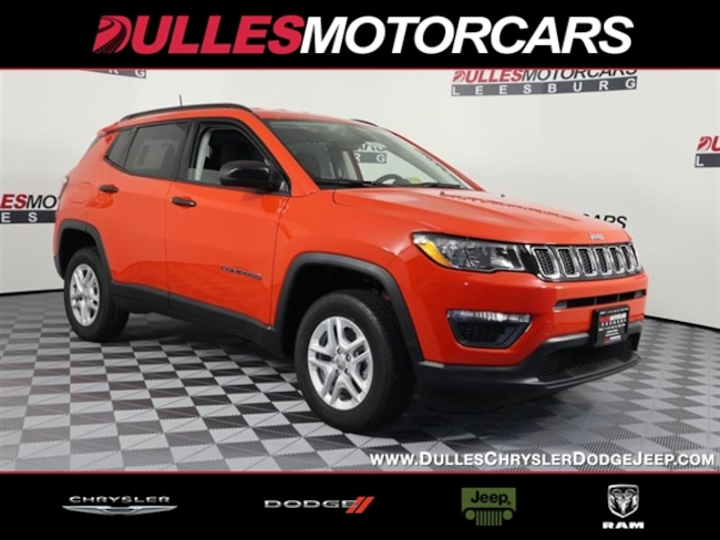 New 2018 Jeep Compass Sport 4x4 SUV Leesburg, VA