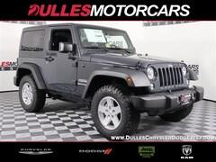 2018 Jeep Wrangler JK SPORT S 4X4 Sport Utility for sale in Leesburg, VA