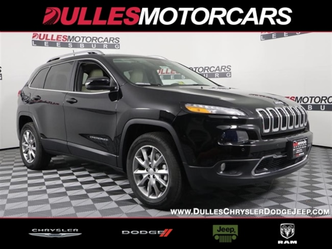 New 2018 Jeep Cherokee Limited 4x4 SUV Leesburg, VA