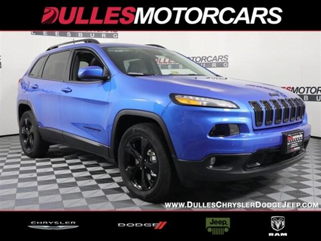 New 2018 Jeep Cherokee LIMITED 4X4 Sport Utility Leesburg, VA