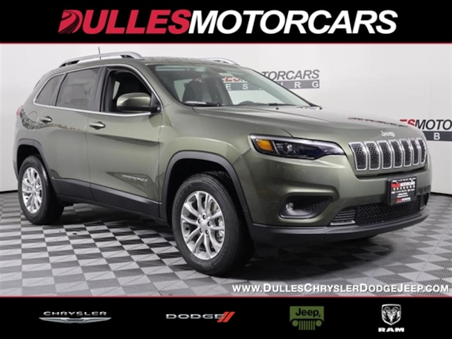 New vehicle 2019 Jeep Cherokee LATITUDE 4X4 Sport Utility for sale near you in Leesburg, VA