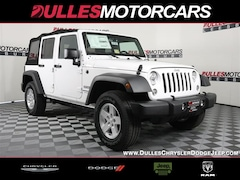 2018 Jeep Wrangler JK Unlimited Sport 4x4 SUV for sale in Leesburg, VA