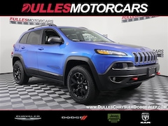 2018 Jeep Cherokee TRAILHAWK 4X4 Sport Utility for sale in Leesburg, VA