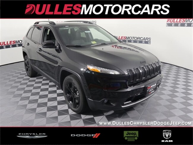New 2018 Jeep Cherokee LIMITED FWD Sport Utility Leesburg, VA