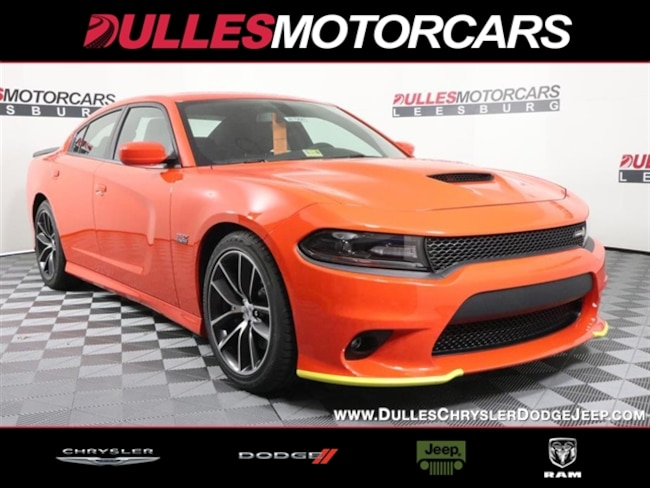 New 2018 Dodge Charger R/T SCAT PACK RWD Sedan Leesburg, VA