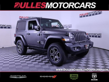 New 2021 Jeep Wrangler For Sale At Dulles Motorcars Vin 1c4gjxan8mw550077