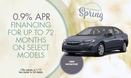 0.99% Financing for Up to 72 Months