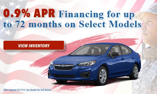 May Special - 0.9% APR