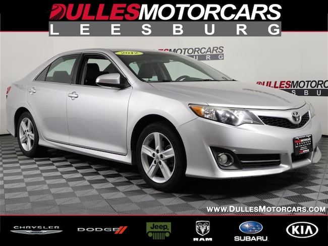 2012 Toyota Camry For Sale >> Used 2012 Toyota Camry For Sale At Dulles Motorcars Vin 4t1bf1fk5cu178436
