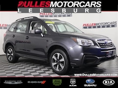 Certified 2018 Subaru Forester 2.5i SUV for sale in Lessburg, VA