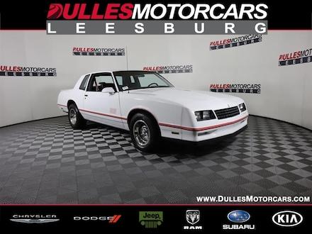 1986 Chevrolet Monte Carlo SS Coupe