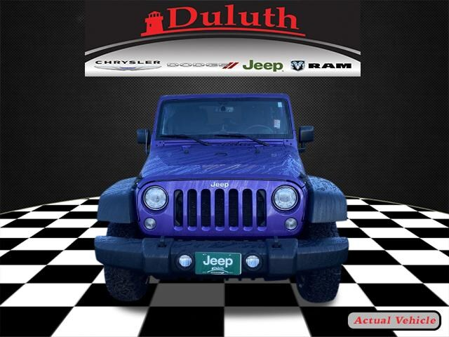 Certified 2017 Jeep Wrangler Unlimited Sport with VIN 1C4BJWDG8HL604597 for sale in Hermantown, Minnesota