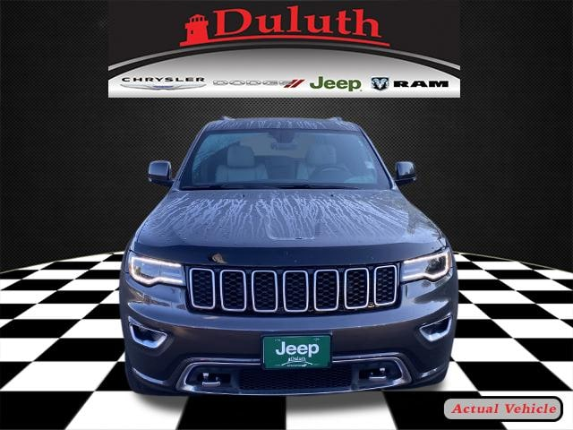 Certified 2018 Jeep Grand Cherokee Limited Sterling Edition with VIN 1C4RJFBG5JC152518 for sale in Hermantown, Minnesota