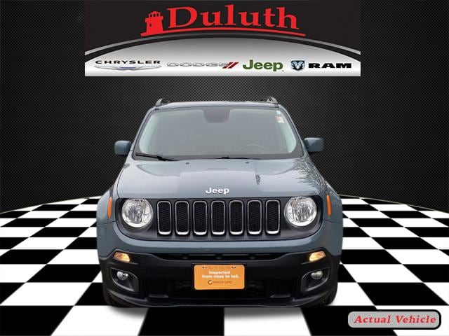 Certified 2017 Jeep Renegade Latitude with VIN ZACCJBBB5HPF96569 for sale in Hermantown, Minnesota