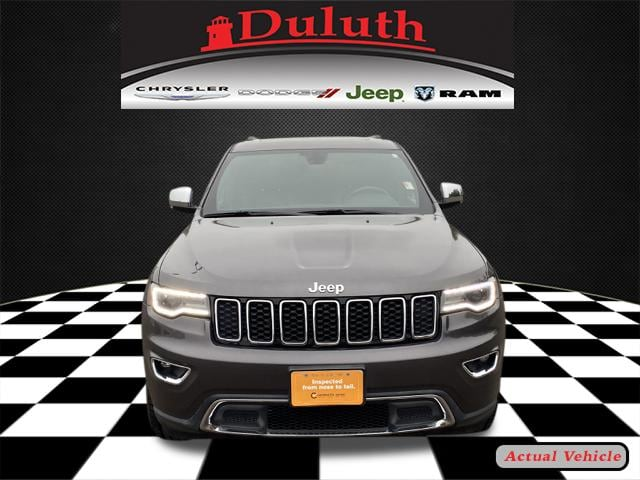 Certified 2019 Jeep Grand Cherokee Limited with VIN 1C4RJFBG4KC741271 for sale in Hermantown, Minnesota